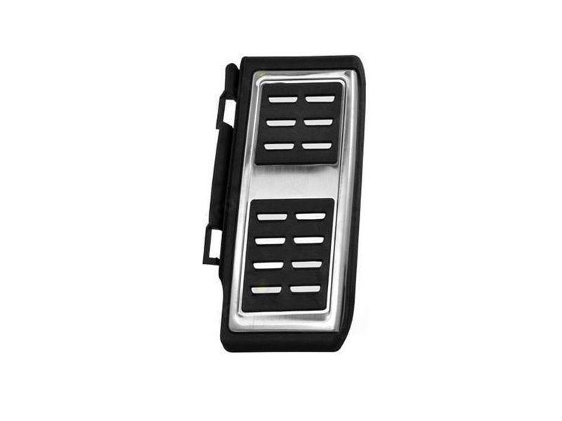 Pedalkappen Edelstahl Schaltung Fußstütze Pedale Pedalset VW Golf VII 7  – Bild 4