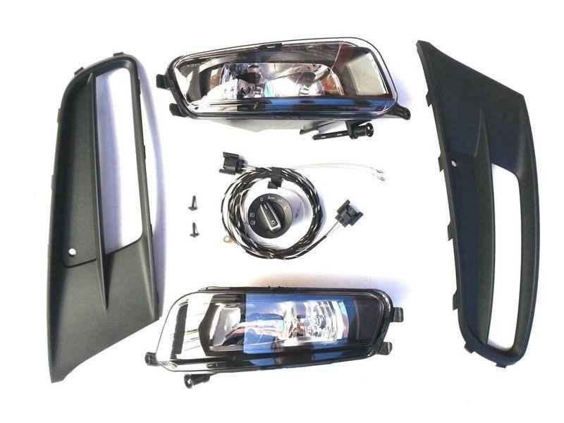 Nebelscheinwerfer Nachrüstung NSW Set Kit Komplettset VW Sharan 7N Trendline