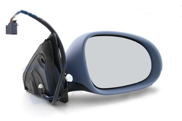VW Passat 3C rechts Seiten Spiegel Außenspiegel grundiert elektrisch abklappbar