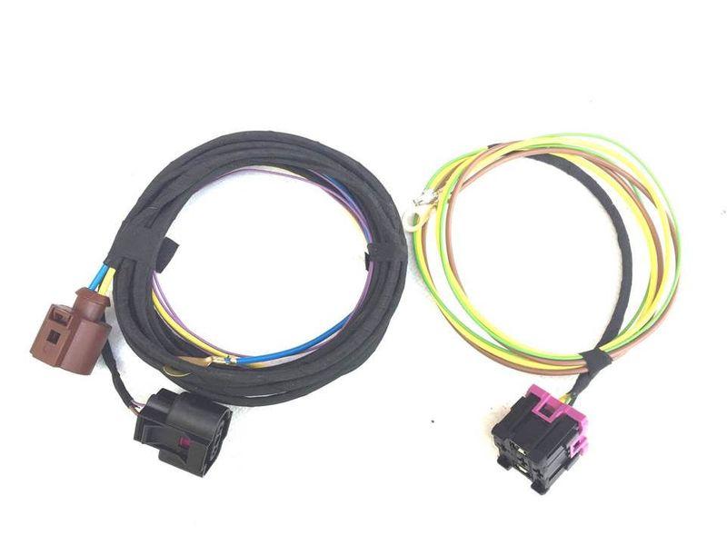VW Polo 6R Kabelbaum Kabelsatz Kabel SRA SWRA Scheinwerferreinigung für Xenon