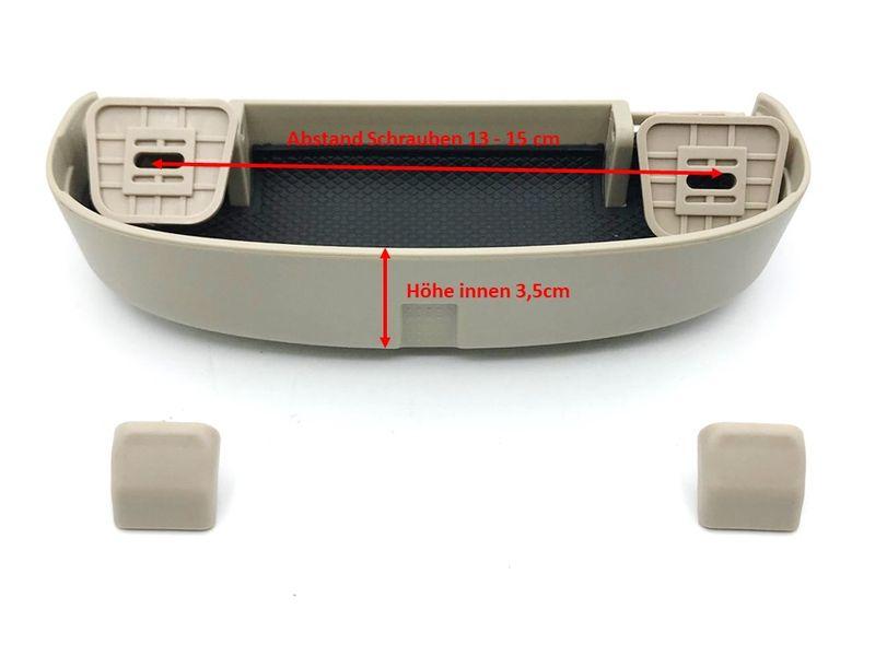 Brillenfach Sonnenbrille Ablagefach Halter Beige BMW X1 X4 X5 E81E87 E90 E60 E61 – Bild 4