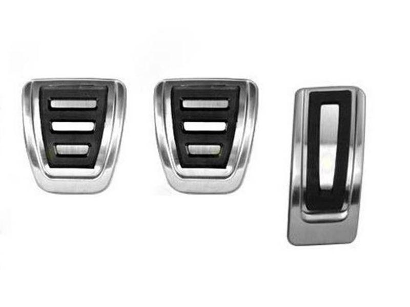 VW Golf 7 alle Schaltung Pedalset Pedale Pedalkappen Edelstahl R-Line Optik