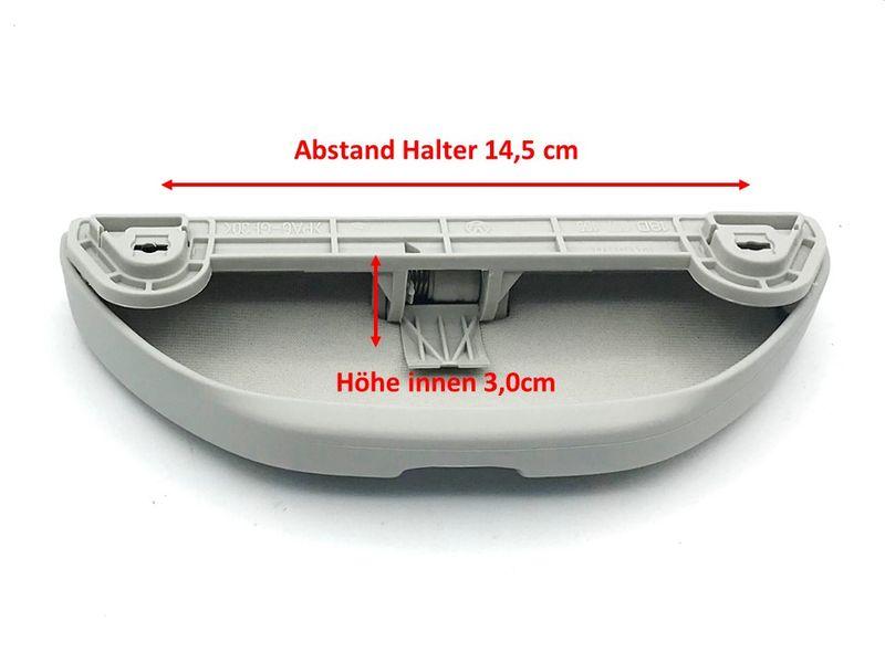 Brillenfach Ablagefach Grau Ersatz f Haltegriff VW T4 T5 Transporter Multivan  – Bild 5