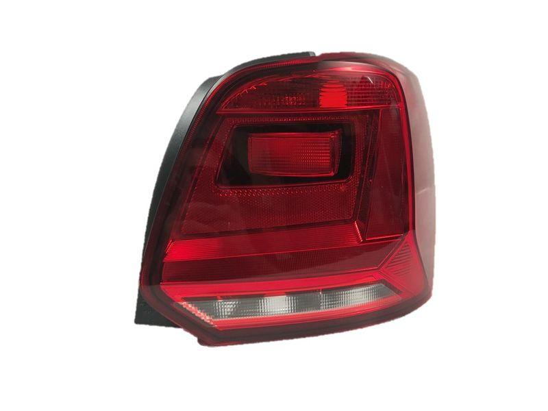 Rückleuchte Heckleuchte rechts abgedunkelt VW Polo 6C 6R Facelift 2/14-11/17 – Bild 1