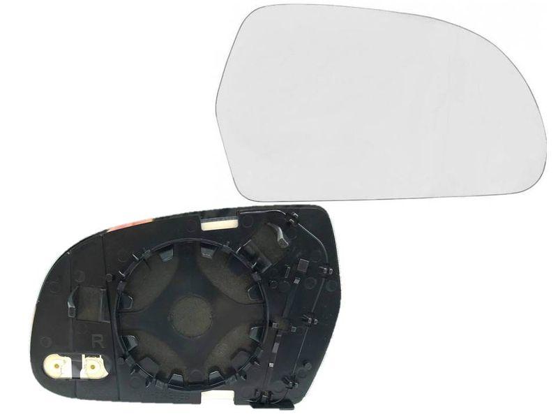 Spiegel Spiegelglas Außenspiegel Glas rechts konvex Audi A3 8P A4 8K A5 8T – Bild 1