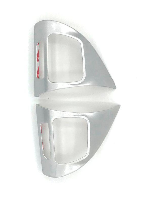 MFL Lenkrad Blenden Abdeckung Set silber VW Golf 6 Passat 3C Touran GP2 Sharan