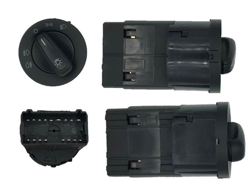 Lichtschalter Schalter Nebelscheinwerfer Funktion NSW  VW Polo 6R 6R0941531E – Bild 2