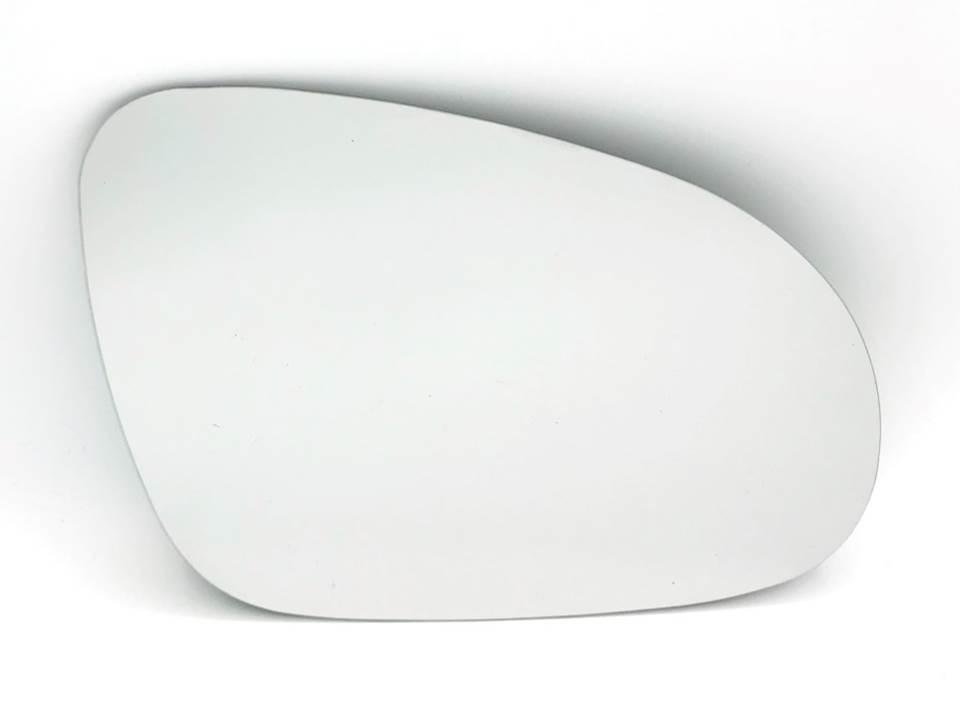 Spiegelglas Außenspiegel Glas heizbar konvex Rechts paßt für VW CADDY 04-