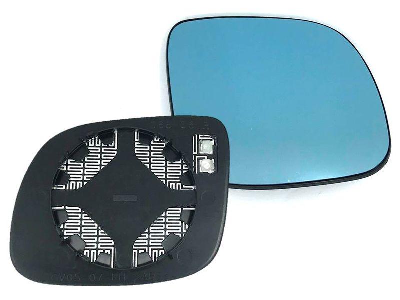 Spiegel Spiegelglas Außenspiegel Glas Blau Rechts klein Audi A3 8L A4 8D A6 4A 3# – Bild 1