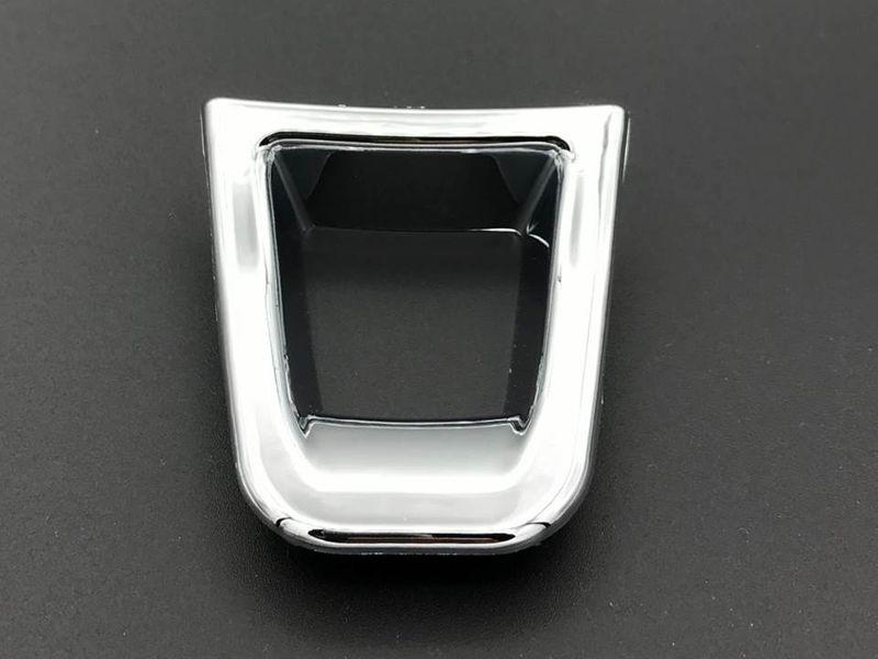 Chrom Lenkrad Blende Clip passend VW Golf 7 Polo 6R Passat B8 Arteon T-Roc Tiguan T6 – Bild 1