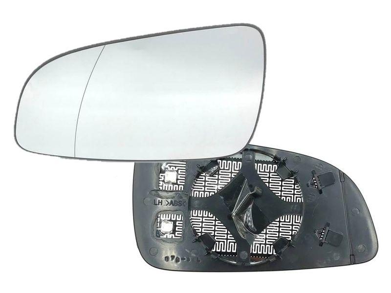 Opel Astra H Spiegelglas Spiegel Außenspiegel Glas Links Aspärisch beheizt  – Bild 1