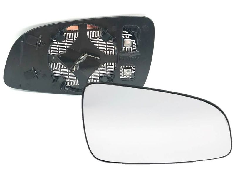 Opel Astra H Spiegelglas Spiegel Außenspiegel Glas Rechts Konvex beheizt  – Bild 1