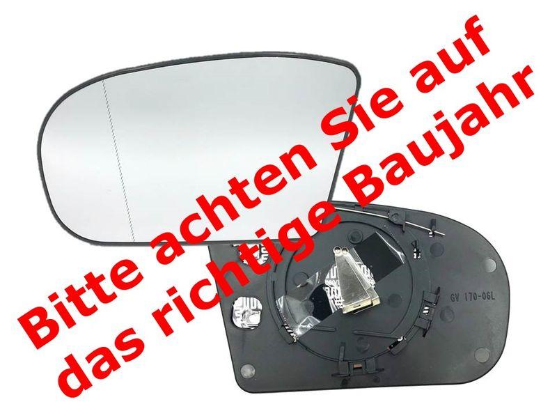 Spiegelglas Spiegel Außenspiegel Glas Links asph. beheizbar MB C E W203 W211 3# – Bild 8