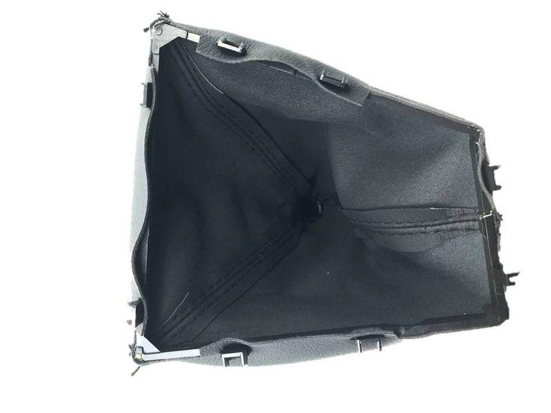 Schaltknauf Schalthebel Schaltmanschette Silber matt 5 Gang BMW 3er F30 3er F 32 – Bild 6
