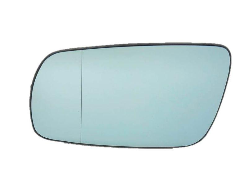 Spiegelglas Außenspiegel Spiegel links beheizt asph. Blau Audi A3 8L A4 8D A6 4A – Bild 2