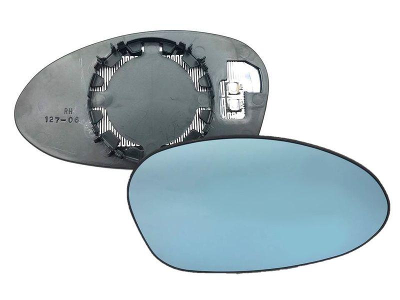 Spiegelglas Spiegel Außenspiegel Glas Rechts Blau konvex BMW 1er E80 3er E90 – Bild 1