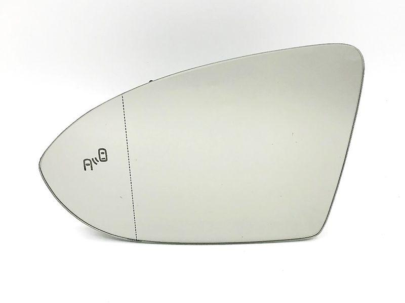 Spiegelglas Glas Ersatzspiegel links Toterwinkel Assistent Blind Spot VW Golf 7  – Bild 3