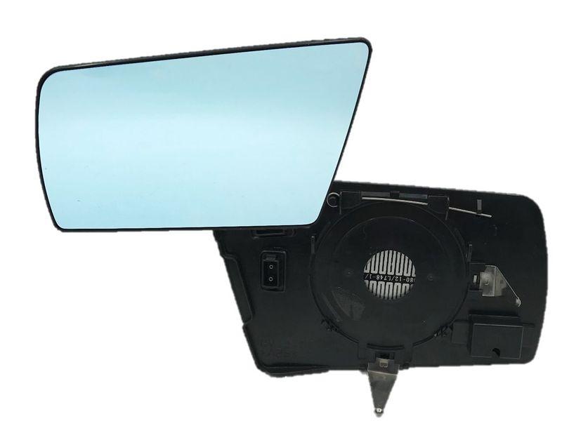 Spiegelglas Spiegel Außenspiegel Glas Links Plan Blau C E Klasse W202 W210 W140  – Bild 1