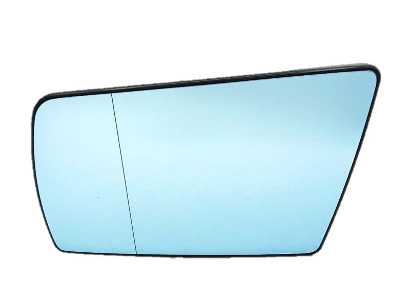 Spiegelglas Spiegel Außenspiegel Glas Links Blau C E Klasse W202 W210 W140  – Bild 2