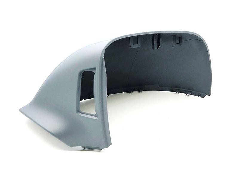 Spiegelkappe Rechts Abdeckkappe für Spiegel grundiert T5 T6 Spurwechselassistent – Bild 1