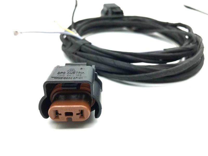 Kabel Kabelbaum Nebelscheinwerfer NSW VW Caddy  3 III 03-15 – Bild 3