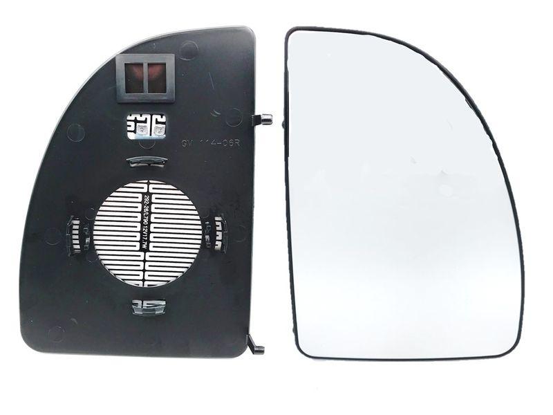 Spiegelglas Rechts Außenspiegel Spiegel beheizt oben Jumper Ducato Boxer 99-06 – Bild 1