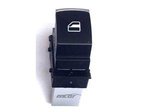 Passat 3C B6 R36 Passat CC Fensterheberschalter 1- fach Chrom Matt Schalter  001