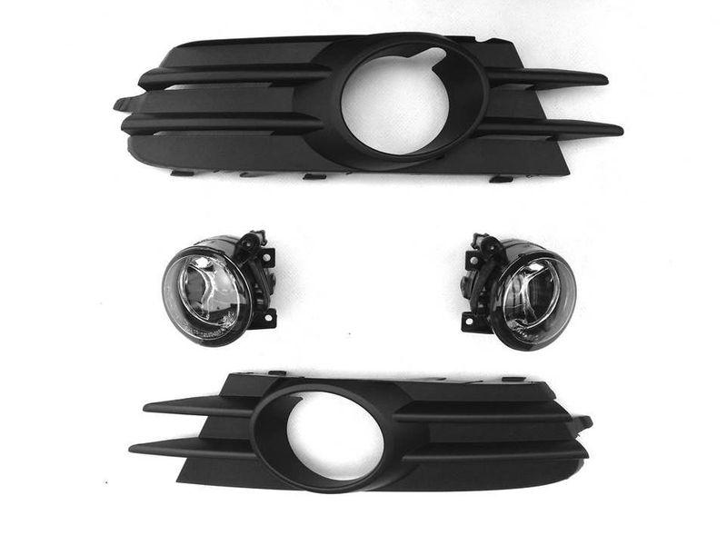 VW Scirocco NSW Nebelscheinwerfer + Blenden Lüftungsgitter Gitter NEU