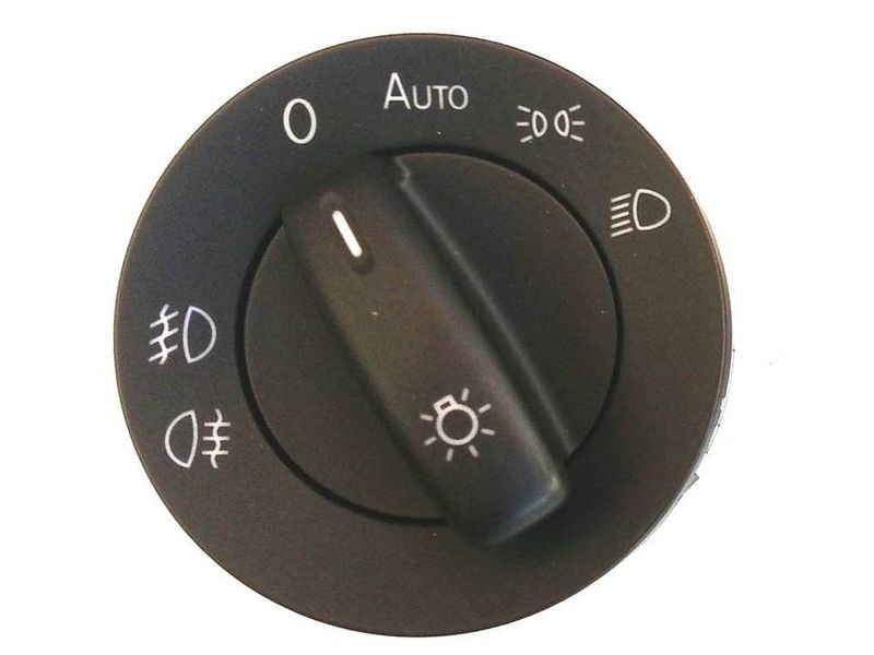 Lichtschalter NSW VW Golf V VI Variant Auto + Nebelscheinwerfer BM – Bild 1