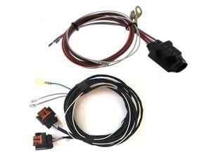 Golf 6 VI  NSW Nebelscheinwerfer Interface + Kabelbaum HB4  001