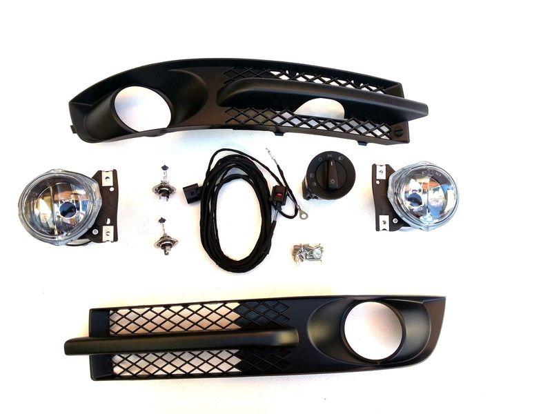 VW SHARAN Nebelscheinwerfer Nachrüstset Komplettset Schalter Blenden Kabel