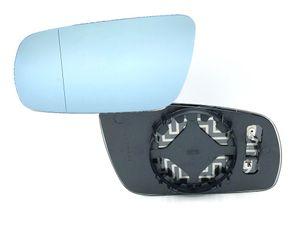 Spiegelglas Spiegel Links Außenspiegel Glas Blau beheizbar VW Golf 4 Passat   001