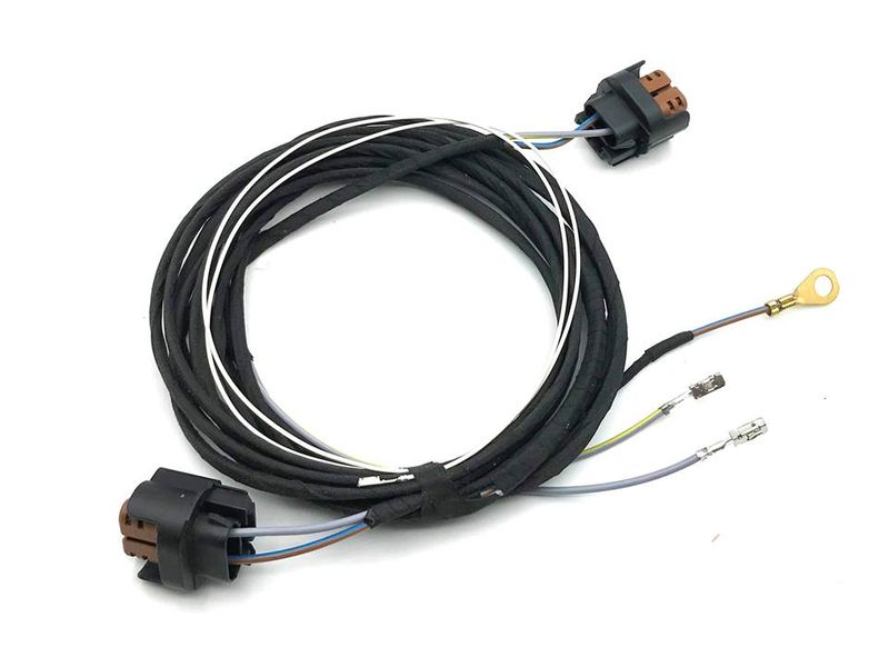 VW Touran Kabel Kabelbaum Nebelscheinwerfer NSW HB4 Nachrüstung  – Bild 1