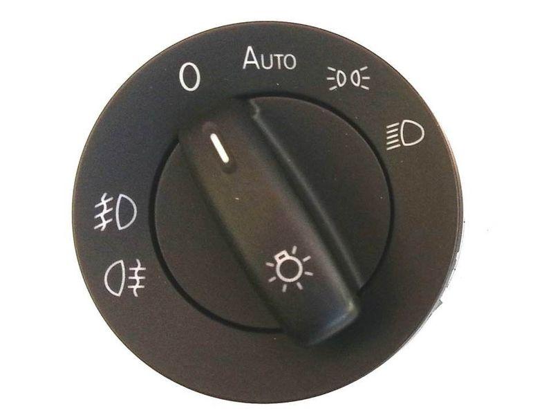 Lichtschalter NSW VW Touran 2003 - 2010 Auto + Nebelscheinwerfer BM – Bild 1