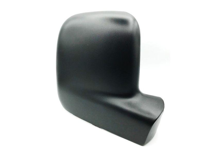 Aussenspiegel Abdeckung Spiegelkappe rechts Gehäuse schwarz VW T5 Caddy 03-09  – Bild 1