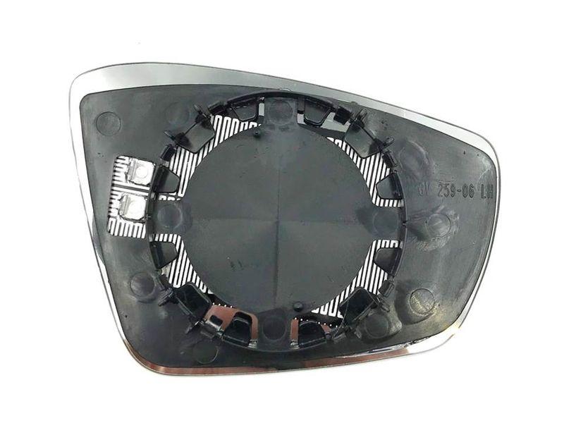 Spiegelglas Spiegel Außenspiegel Glas Links asph. beheizbar VW Polo 6R 6C UP  – Bild 3