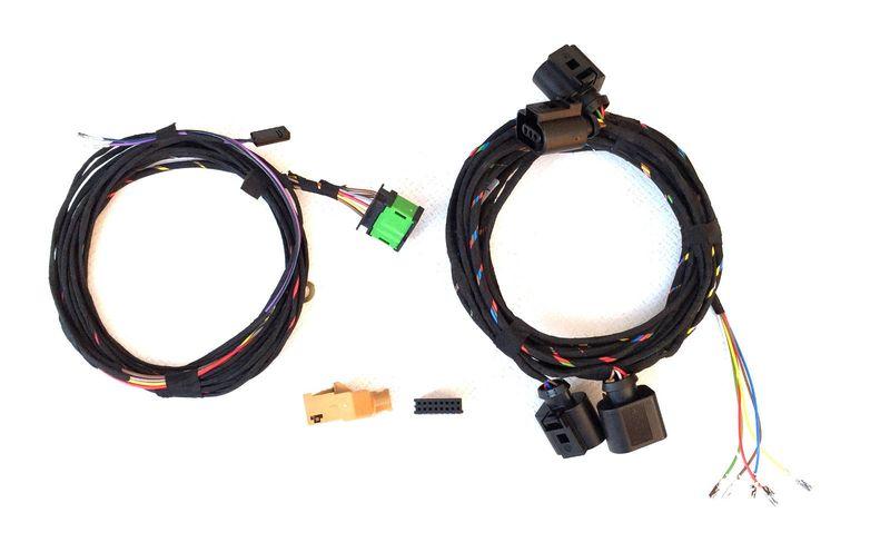 VW T5 Bus bis 9/2009 Multivan Kabelsatz Kabelbaum PDC Sensor Einparkhilfe VORNE