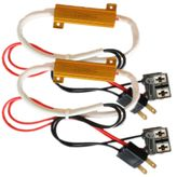 2x H7 12V 50W 6 Ohm CAN-Bus lighting error resistance Power resistor SET