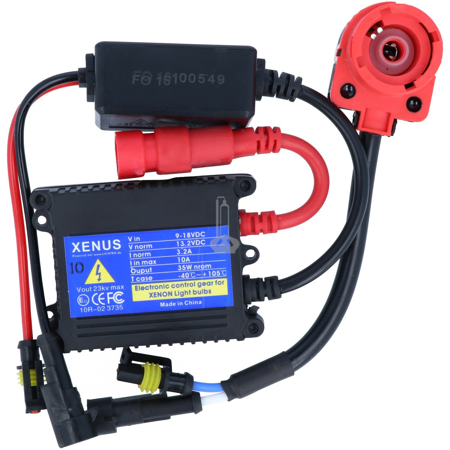 XENUS 5DV 007 760-VS Basic Xenon Headlight Ballast, Replacement for Hella