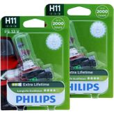H11 PHILIPS LongLife EcoVision - 4x Lifetime