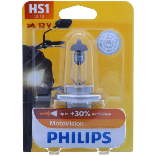 HS1 PHILIPS Vision Moto - 30% more vision