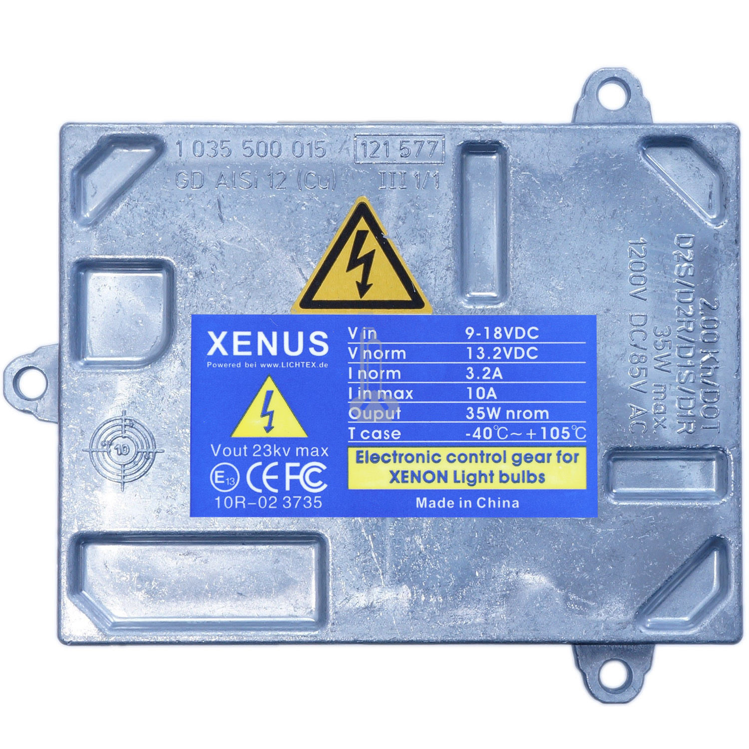 XENUS D1S 1 307 329 115 Xenon Headlight Ballast, Replacement for AL