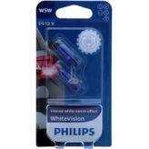 W5W PHILIPS WhiteVision 3700K - Intensive Xenon-Effekt