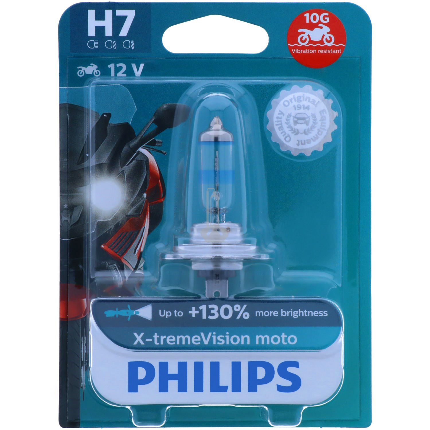 H7 PHILIPS X-tremeVision Moto - maximale Leistung
