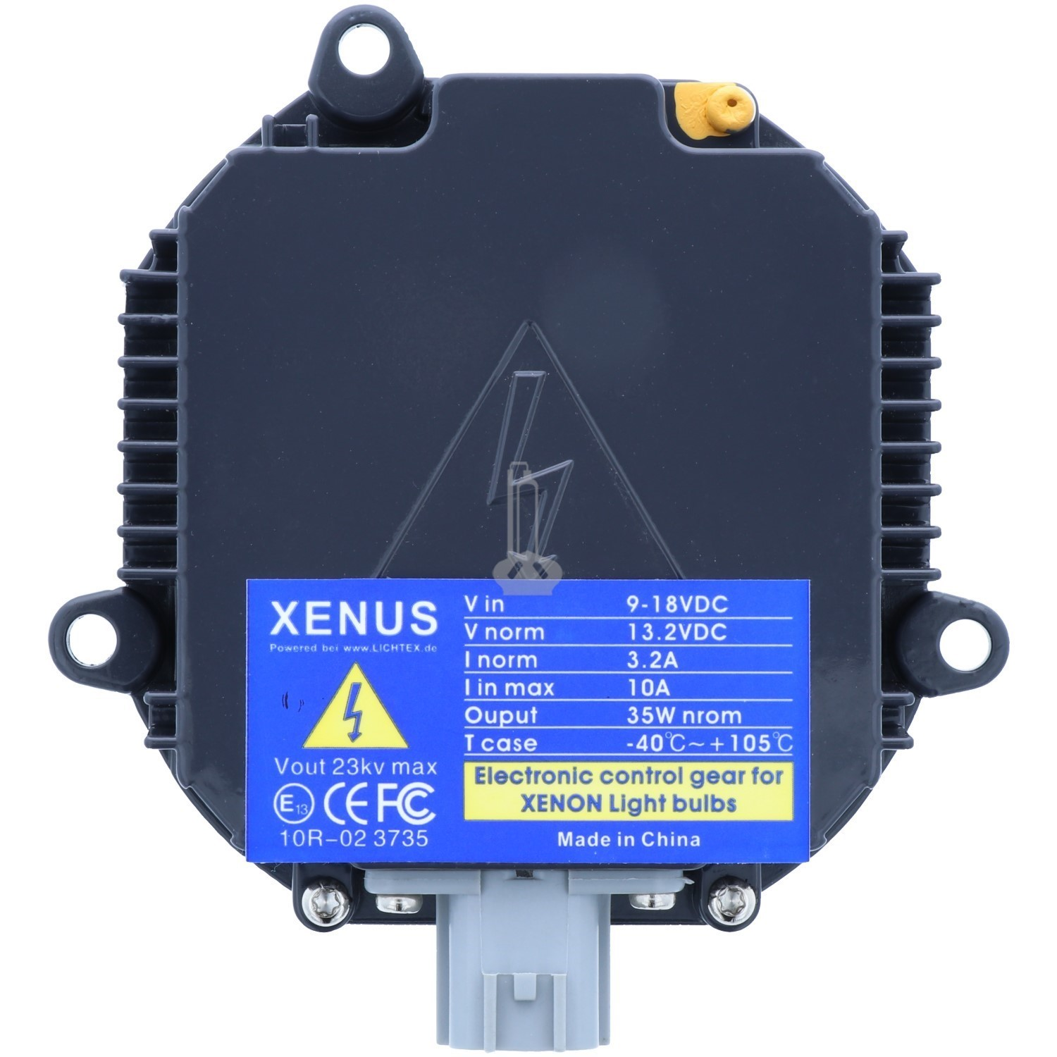 XENUS GEN4 D2S/D2R Xenon Headlight Ballast, Replacement for MATSUSHITA-PANASONIC