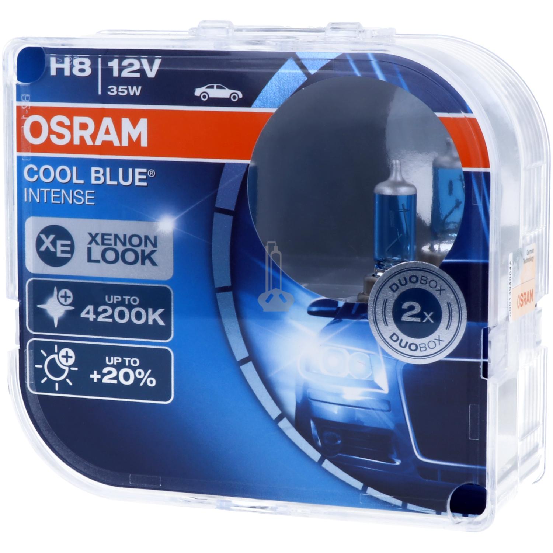 H8 OSRAM Cool Blue Intense - Stylish look