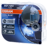 H7 OSRAM Cool Blue Intense - Stylischer Look