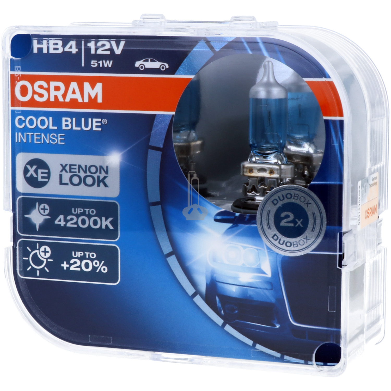 OSRAM Cool Blue Intense - Stylischer Look B-Ware