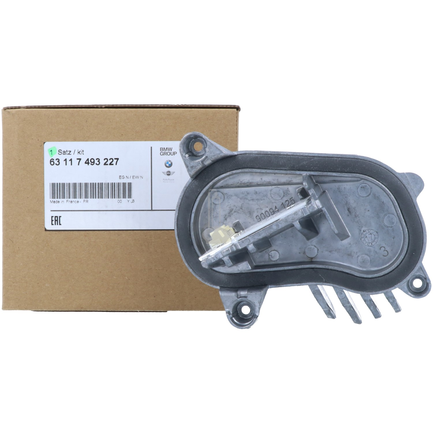 BMW 63 11 7 493 227 LED Daytime Running Light Module Left F80 F32 F33 F36 F82 F83 LCI Headlight Ballast VALEO