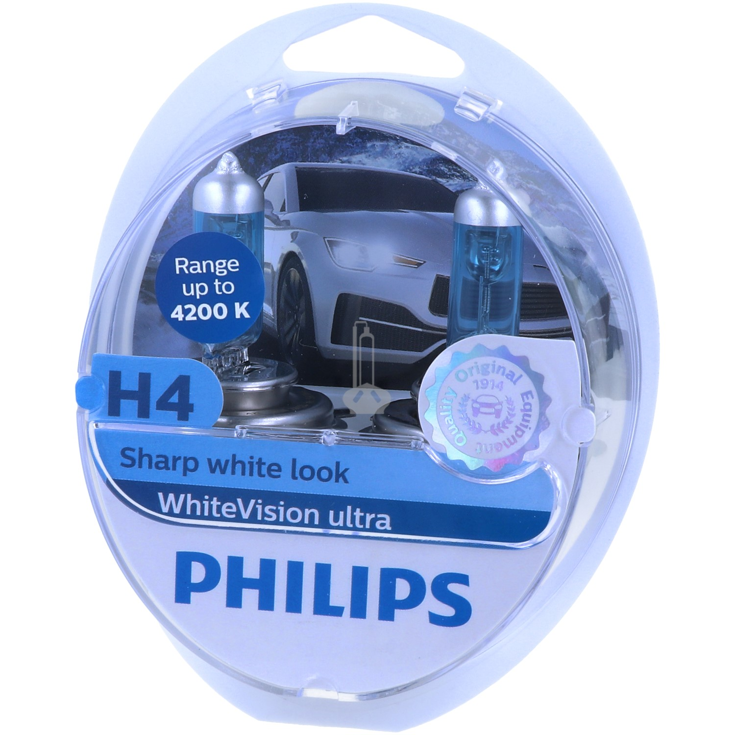 PHILIPS WhiteVision ultra - unwiderstehlicher Look